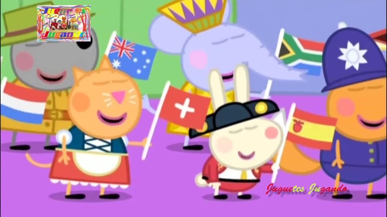 Peppa Pig Peace and Harmony Song Nursery Rhymes - YouTube