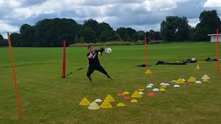 Garry Malone Pre-Season Goalkeeper Training 11th July 2016 (HD)