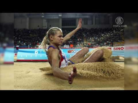 里约唯一俄田径选手 跳远美人克里什娜(里约奥运)