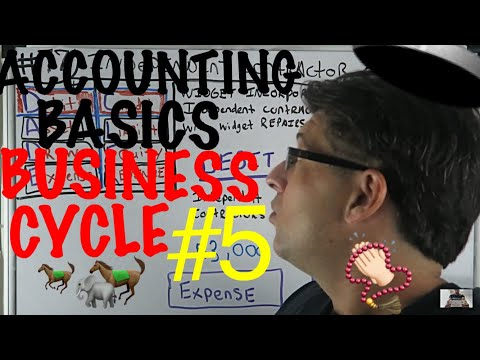 Accounting for Beginners #77 / Paying an Independent Contractor / General Ledger / Widget INC #5