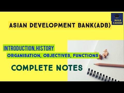 #Buildcareer Asian Development Bank|Asian Development Bank (
