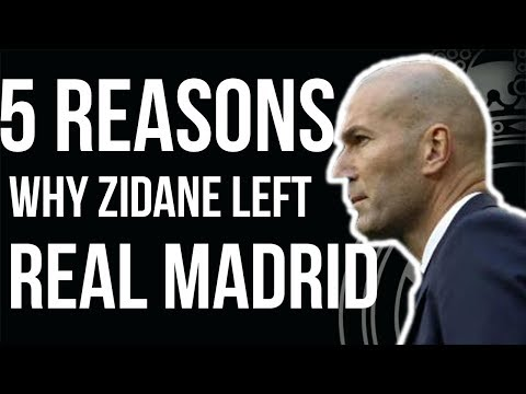 5 Reason Why Zidane Left Real Madrid - Bale, Ronaldo etc .. | Real Madrid Transfer news 2018