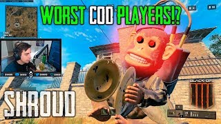 WORST PLAYERS SHROUD HAS EVER SEEN | Call of Duty: Black Ops 4 - BLACKOUT #9