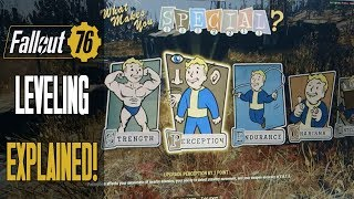 FALLOUT 76 Leveling System EXPLAINED - Perk Cards, Changes To S.P.E.C.I.A.L. & MORE!