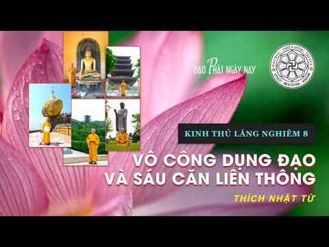 Kinh Thủ Lăng Nghiêm 8 (2013): Vô công dụng đạo và sáu căn viên thông