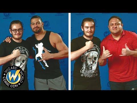 Meeting Roman Reigns, Samoa Joe & Bayley At Wizard World Nashville 2017 | Brandon Hodge Vlog #65