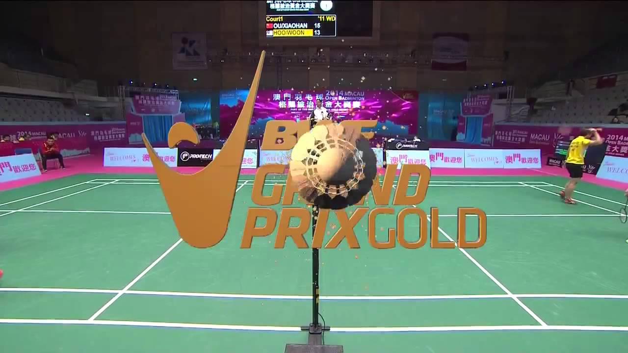SF 2014 Macau Open Ou Dongni Yu Xiaohan vs Vivian Hoo Woon Khe