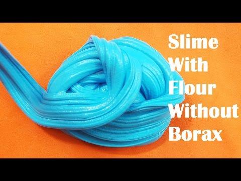 how to make white glue without flour