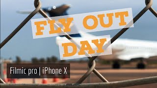 iPhone X | filmic pro | quik | fly out day