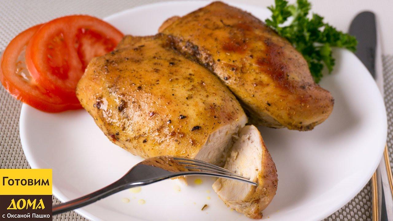 как приготовить сочную куриную грудку в духовке
