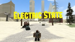 [Roblox | Electric State] Flying Bikes and Raiding Some Places