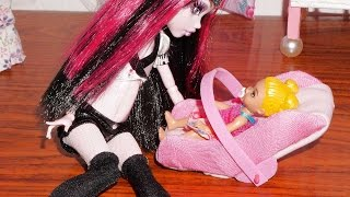 How to make a baby car seat for doll (Monster High, MLP, EAH, Barbie, etc)