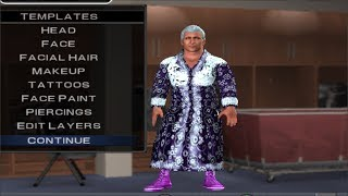 WWE 2K14 S S P RIC FLAIR CAW FORMULA PS2