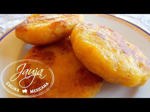 Tortitas de Pltano Macho  YouTube