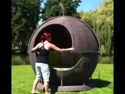 Garden Furniture Apple Pod apple daybed - youtube