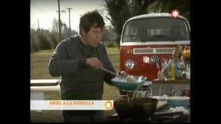 Ariel a la Parrilla - Lechon con ensalada y batatas - (Receta)