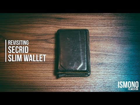 Is this still the best slim wallet? Revisiting the Secrid Slim Wallet