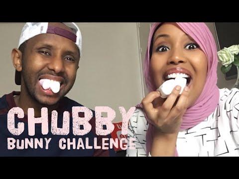 CHUBBY BUNNY CHALLENGE ¦¦ AFSOOMAALI