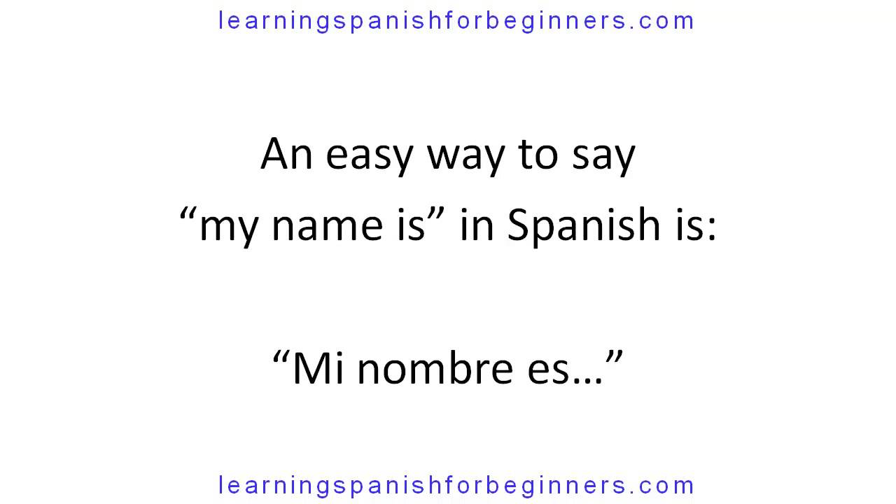 Learn spanish pronunciation youtube