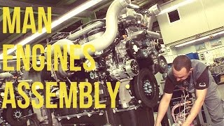 MAN Trucks & Buses Engines Assembly