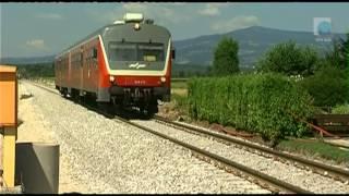 Obnova železniške proge, TV Maribor 1.8.2012