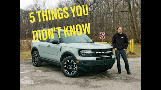 2021 Ford Bronco | 5 Things You Didn't Know