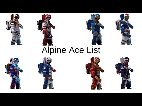 Ranking Fortnite Alpine Ace Skins From Worst To Best