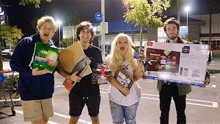 SURPRISING FRIENDS WITH WALMART GIFT CHALLENGE!!