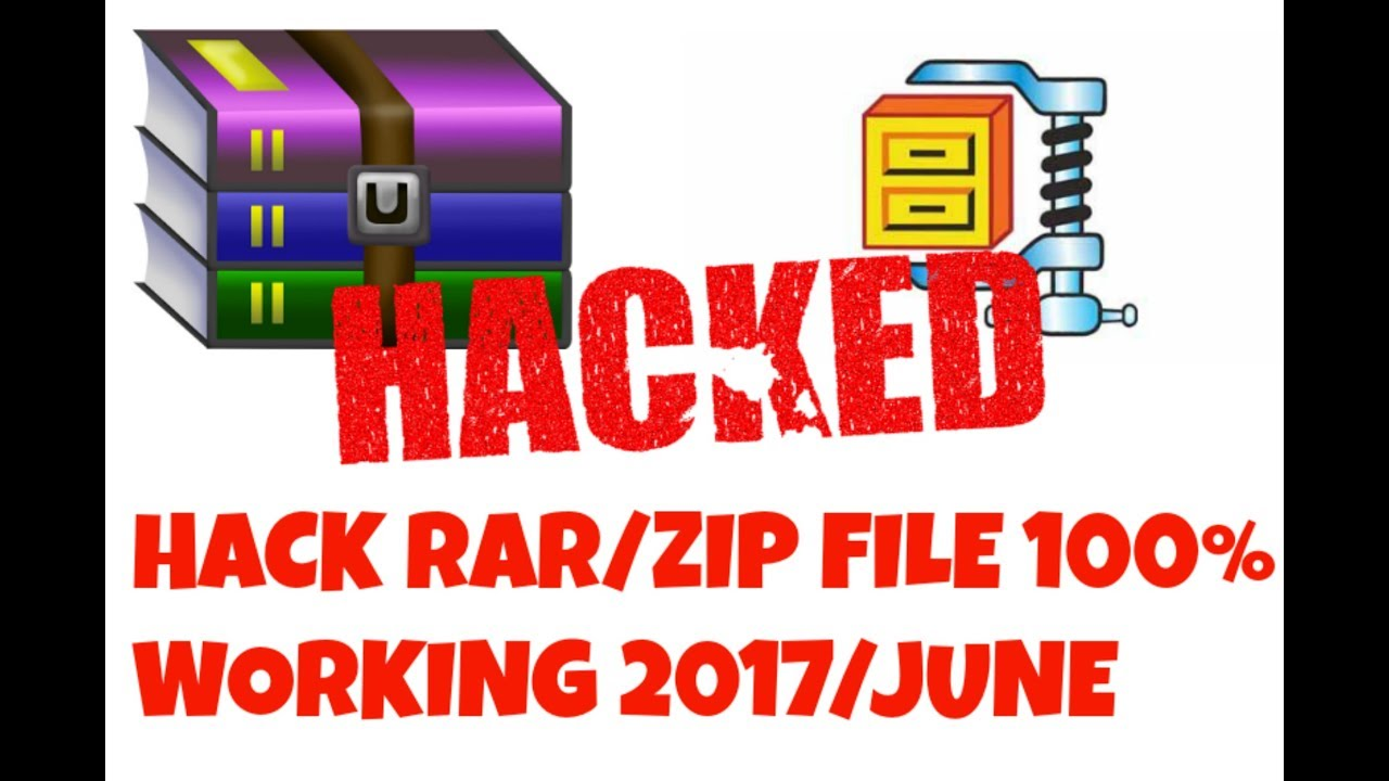 Hack Rar/Zip Password 100% Working | New Update 2017 JUNE |