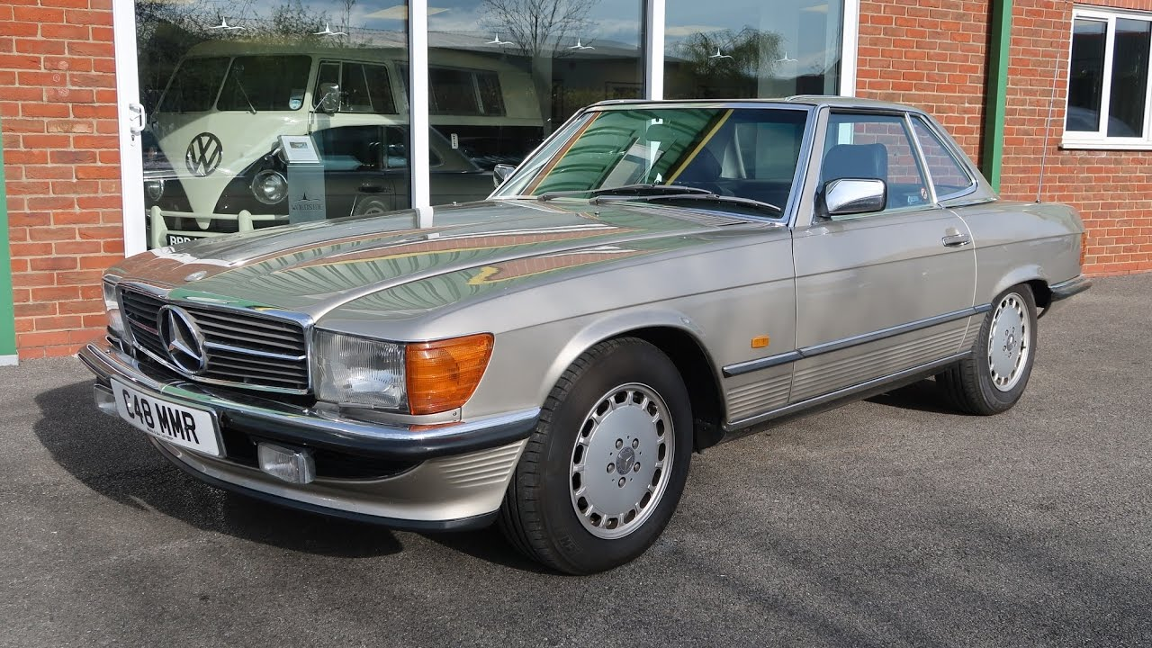 sold 1986 mercedes 300 sl 2dr auto facelift model for sale in louth lincolnshire youtube. Black Bedroom Furniture Sets. Home Design Ideas