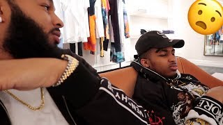 THEY WERE BIG FLIRTING | SHOPPING W/ DDG