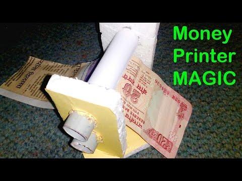 How To Make A Money Printer Machine    At Home   DIY