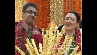 Boy from Wayanad married Romanian girl in Kerala style