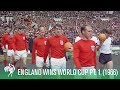 1966 World Cup Final (Part 1) - England beat West Germany (Excellent Colour Footage)