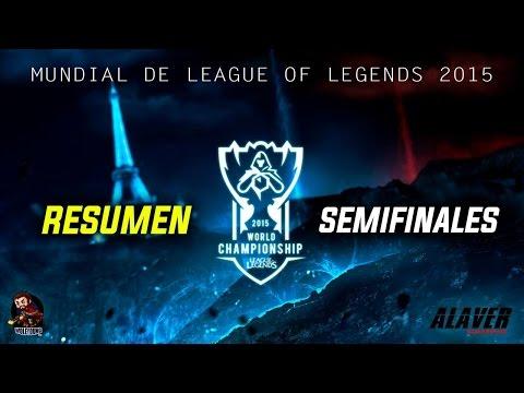 Resumen Semifinales OG vs SKT  FNC vs KOO  [ Mundial League of Legends ]