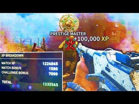 our SECRETS to unlock PRESTIGE MASTER in 2 DAYS! Level Up Fast Call of Duty WWII Multiplayer COD WW2
