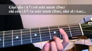 Đệm hát hợp âm guitare - Nhỏ ơi - Chí Tài (Part 2)