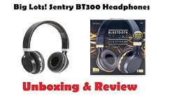 Big Lots! $20 Sentry BT300 Bluetooth Deluxe Headphones (Review & Unboxing)