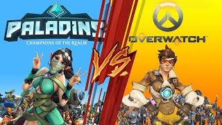 Overwatch vs Paladins ¿de verdad son lo mismo? - Overwatch/Paladins - Dynamite Jony