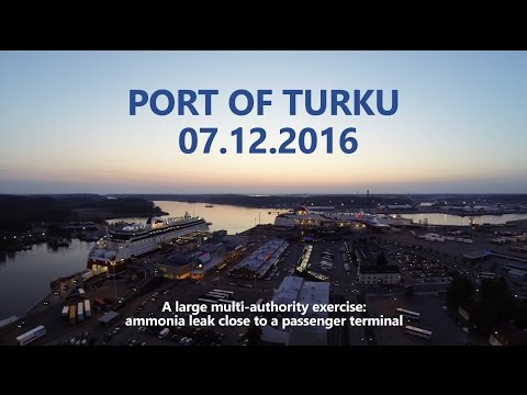 HAZARD Multi-authority Exercise in Turku 7th Dec 2016