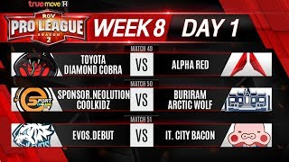 Week 8 Day 1 | RPL Season 2 Presented by TrueMove H