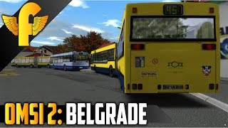OMSI 2: Belgrade - Line 45 MAN NG312 Gameplay