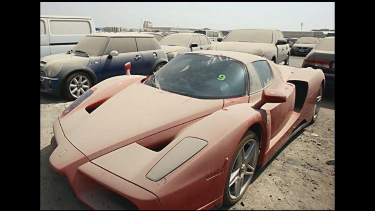 Top 10 Abandoned Luxury Cars Of Dubai Youtube