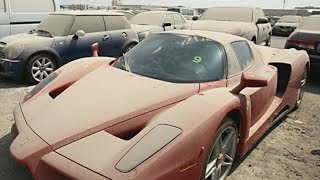 TOP 10 Abandoned Luxury Cars of Dubai