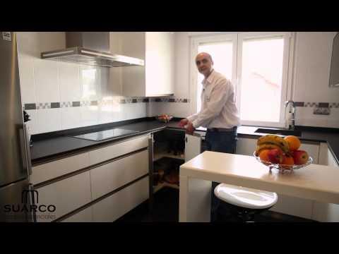 Download video video cocinas blancas modernas sin for Muebles de cocina suarco