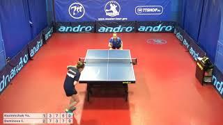 Настольный теннис матч 010619 12 Казимирчак Яна  Деминова Ирина