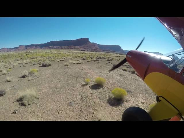 Utah Backcountry Flying - Piute Canyon