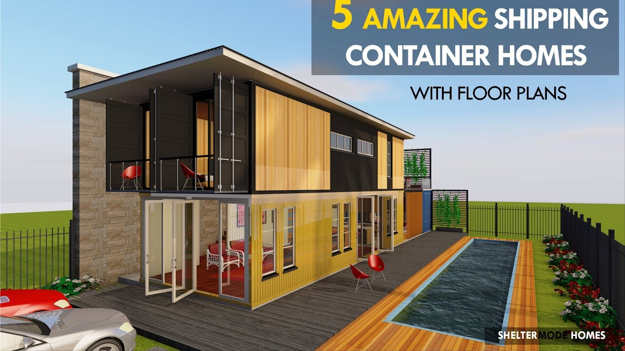 The 5 Most Amazing Shipping Container House