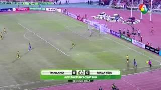 12 17 57 เอเอฟเอฟ ซูซูกิ คัพ  รอบชิงชนะเลิศนัดแรก  ทีมชาคิไทย 2 -0 ทีมชาติมาเลเซีย