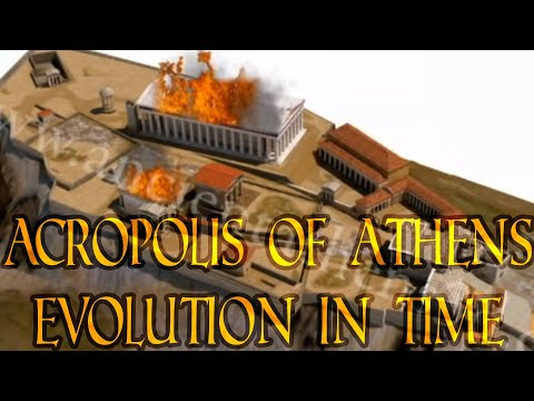 The Acropolis of Athens - Evolution in time (3500 BCE - today)